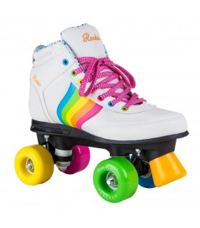 Patines Quad Rookie Rollerskates Forever Arco Iris