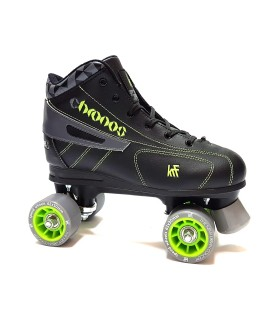 Patines Quad KRF Hockey Chronos Gris/Verde 2016 Adulto/Niños