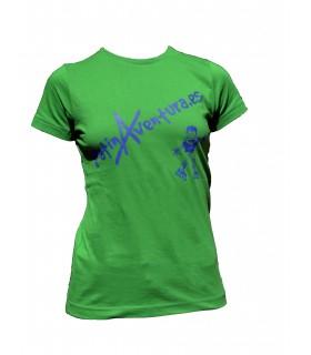 Camiseta PatinAventura Mujer 2017