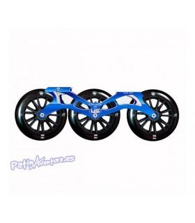 Pack Guía Ultrasonic Ruedas y Rodamientos 125mm Azul
