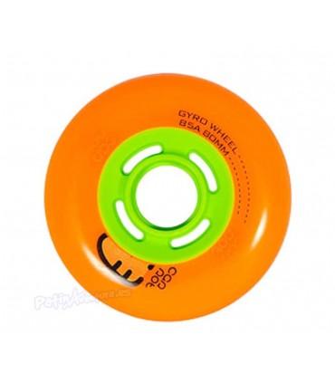 Ruedas Freeskate Gyro Carrot Orange