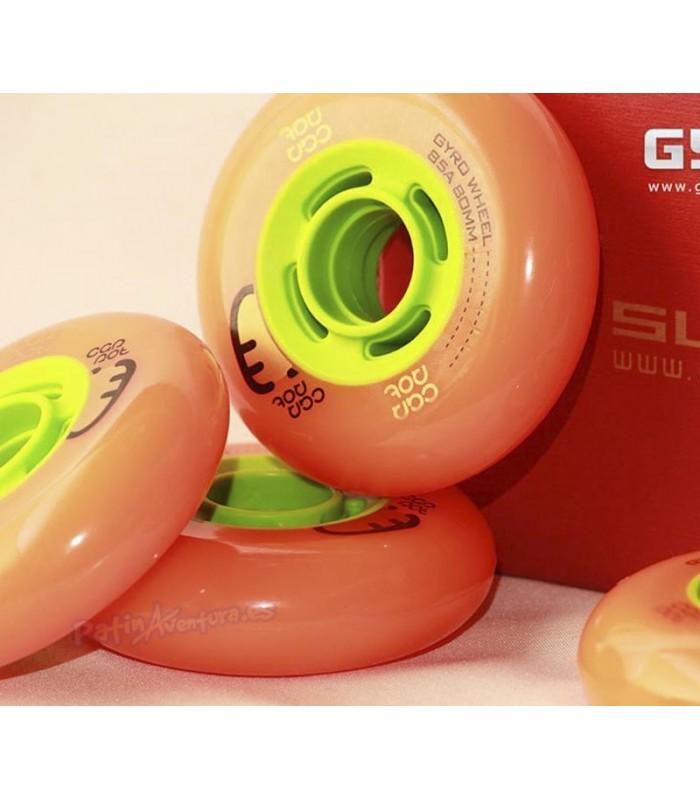 Gyro Carrot Orange 84A 4 ruedas
