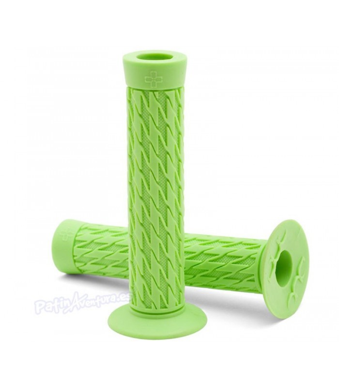 Puños Scooter Patinete Duo Grips Scotty Cranmer Monster Green