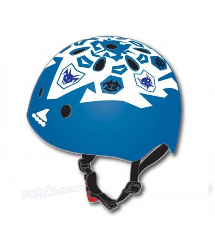 Casco Freeskate Rollerblade Twist Azul/Blanco Junior