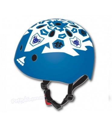 Casco Freeskate Rollerblade Twist Azul/Blanco Niños