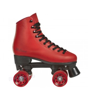 Patines Quad Playlife Rollerskates Melrose Rojo Adulto