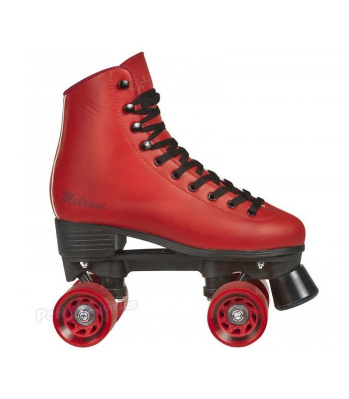 Patín tradicional Playlife Rollerskates Melrose Rojo Adulto