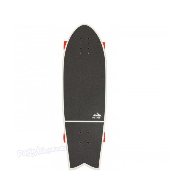 "Skateboard Carver D Street Cut Back Multi 31"""