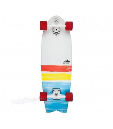 """Surfskate Carver D Street Cut Back Multi 31"""""""