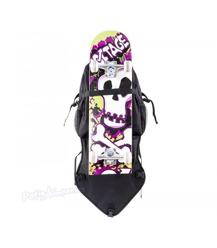 Mochila Porta Patines & Skateboard Voltage