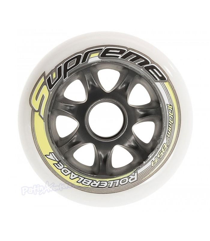 Ruedas Rollerblade Supreme 100mm 85A Pack 8