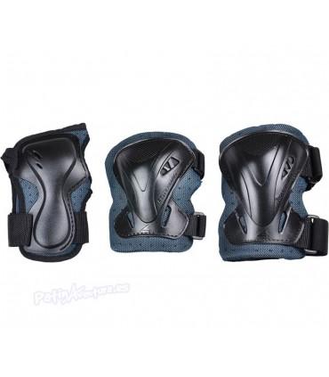 Protecciones Rollerblade Pro Pack3 Freeskate Antracita Adulto