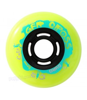 Ruedas Freeskate Gyro GFR Cross 76mm 90A
