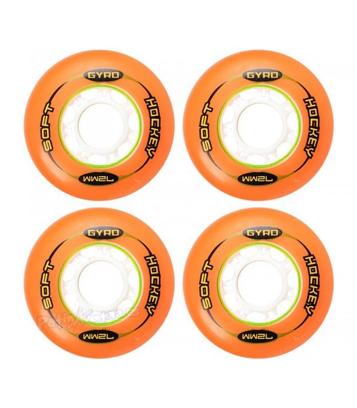 Gyro Hockey Naranja 72mm