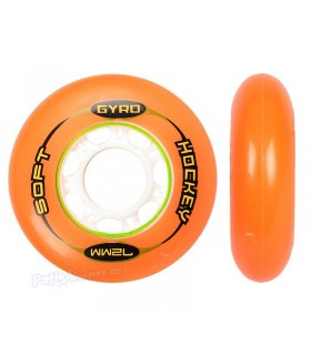 Ruedas Gyro Hockey Naranja 72mm