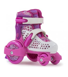 Patín Quad Extensible SFR Stomper Rosa Junior