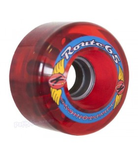 Rueda Tradicional Kryptonics Route 65mm Roja