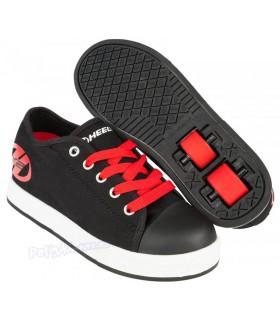 Heelys X2 Fresh Negro/Rojo