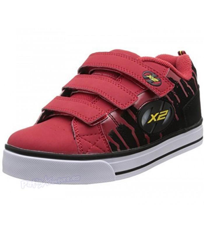 Heelys X2 Speed Rojo/Negro