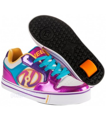 Heelys Motion Plus Blanco/Fucsia/Multi