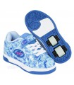 Zapatillas Con Ruedas Heelys X2 Dual Up Azul/Multi/Mármol