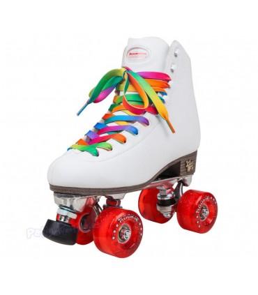 Patines Quad Artístico Rookie Rollerskates Classic II Blanco
