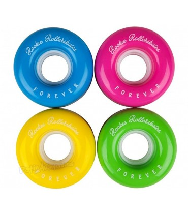 Ruedas Patines Quad Rookie All Star Arco iris