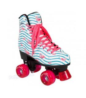 Patín Rookie Rollerskates Flamingo