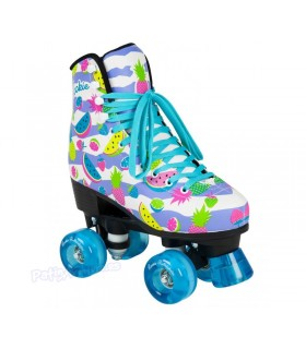 Patines Quad Rookie Rollerskates Fruits Adulto/Niñas