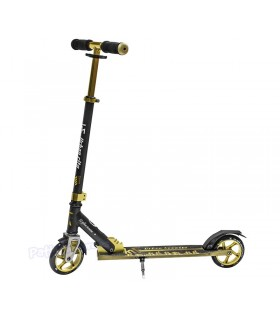 Scooter Patinete Urban City 145 Negro/Dorado Junior