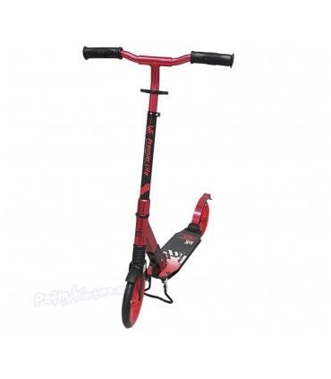 Patinete Scooter Paseo Premier City 200 Rojo Doble Suspensión Adulto/Niños
