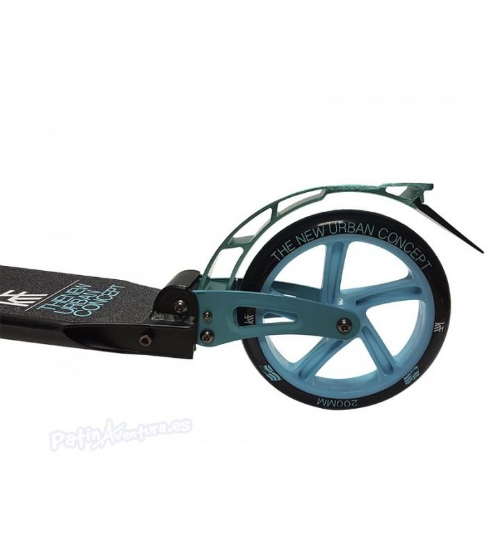 Scooter Patinete Premier City 200 Azul Doble Suspensión Adulto/Junior