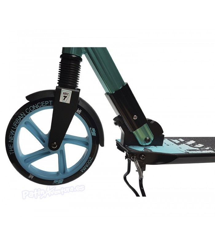 Scooter Patinete Premier City 200 Azul Doble Suspensión Adulto/Junior