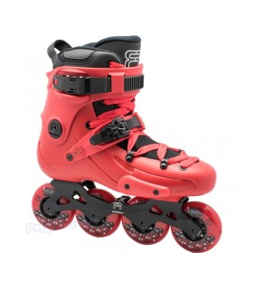 Patines Freeskate FR1 80 Rojo Adulto