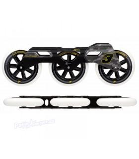 Pack Guías Urban RB 3WD + Ruedas Hydrogen 3x110mm 85A
