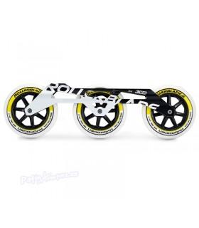 Pack Guias 3WD Marathon + Ruedas Hydrogen 3x125mm 85A Negro/Oro