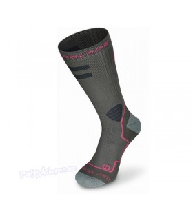 Calcetines Rollerblade High Performance Gris/Rosa