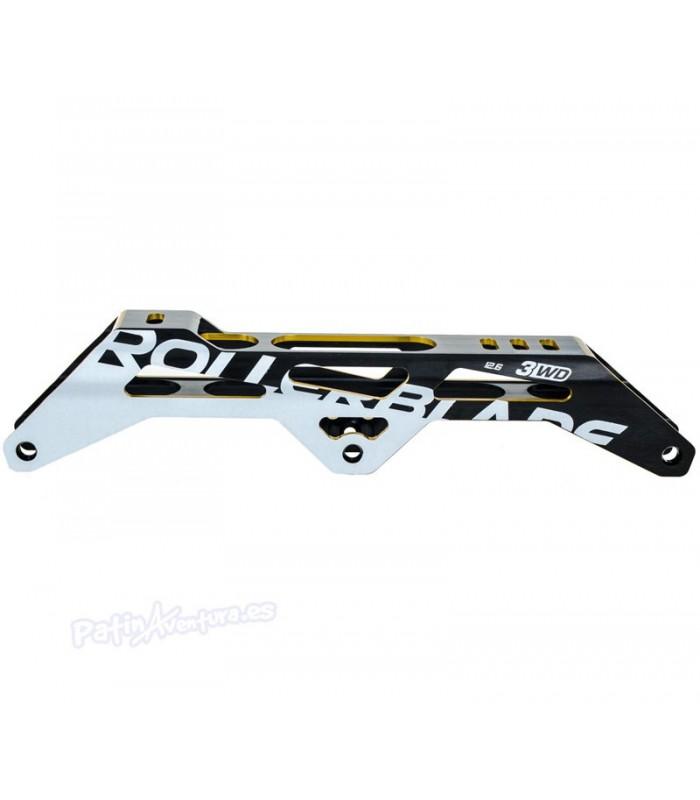 Guia 3WD Frame Rollerblade 125mm Negro/Oro