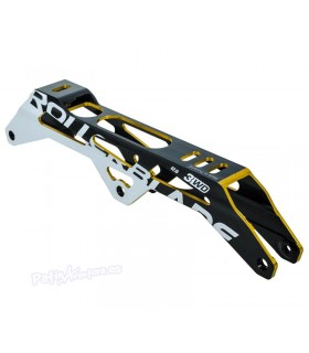 Guia 3WD Frame Rollerblade 125mm Negro/Oro