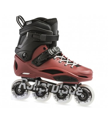 Patines Freeskate RB 80 Pro Negro/Rojo Adulto