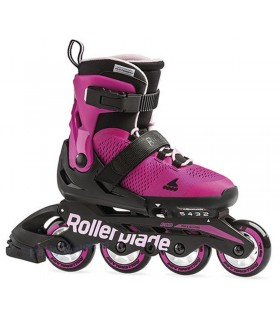 Patines Fitness Rollerblade Microblade G Junior Fucsia