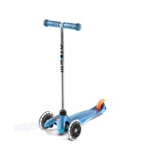 Patinete Scooter Mini Micro Classic Aqua Led Junior