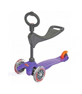 Patinete Scooter Mini Micro 3en1 Lila Junior