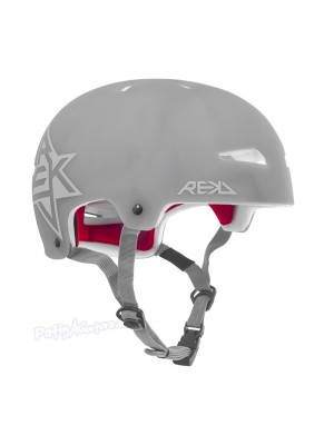 Casco Integral REKD Elite Icon Semi-Transparente Gris