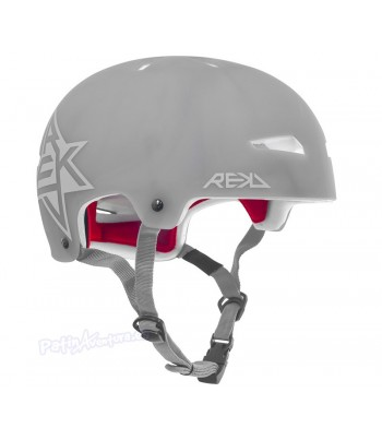 Casco Integral REKD Elite Icon Semi-Transparente Azul