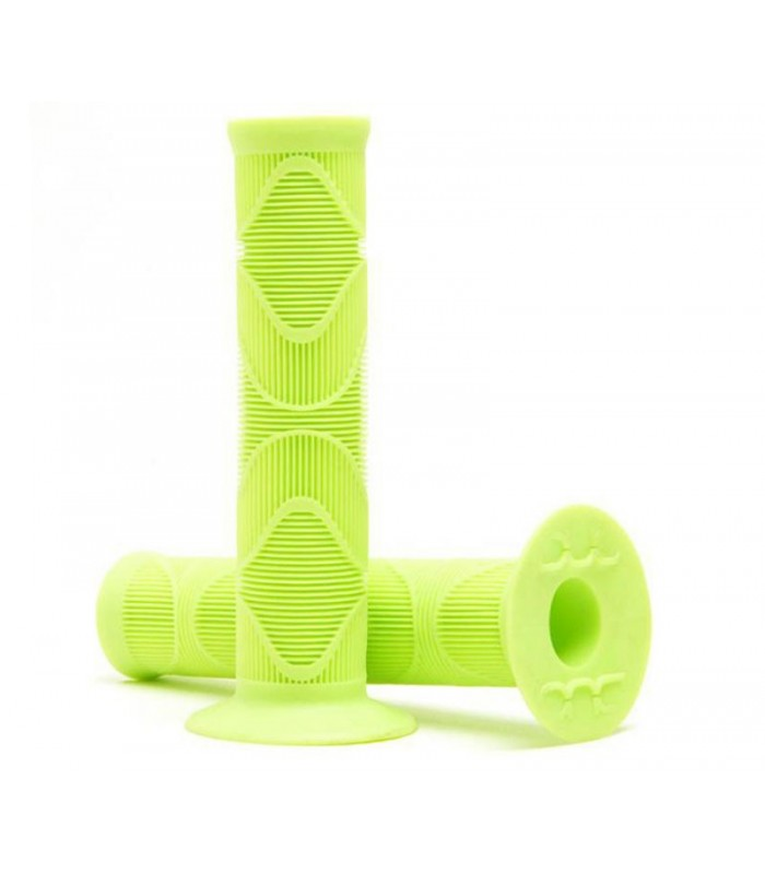 Puños Scooter Black Label Grips Repeater Monster Verde