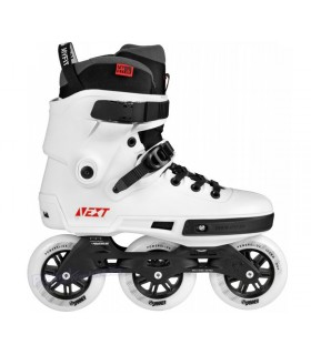 Patines Freeskate Powerslide Next 100mm Blanco Adulto