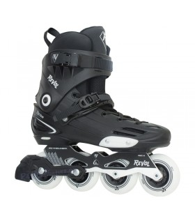 Patín Freeskate Revol Rs One Negro/Blanco Adulto