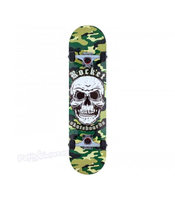 """Skateboard Rocket Combat Skull Camo 7,75"""""""