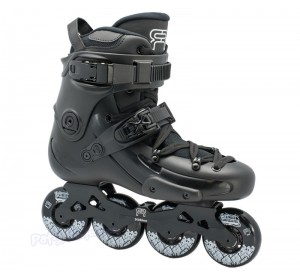 Patines Freeskate FR1 80 Negro Adulto
